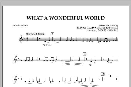 What A Wonderful World - Bb Trumpet 2 Sheet Music