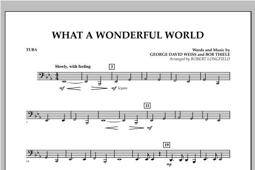 What A Wonderful World - Tuba Sheet Music