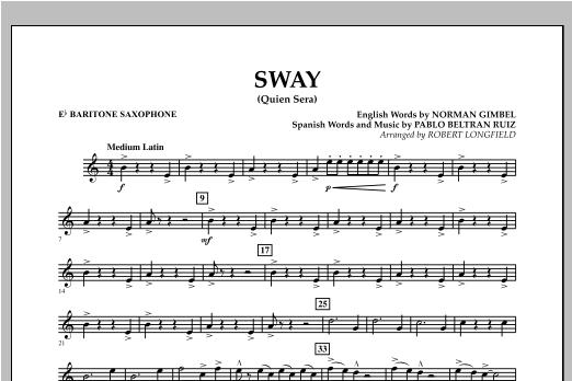 Sway (quien Sera) Dl - Eb Baritone Saxophone (Concert Band)