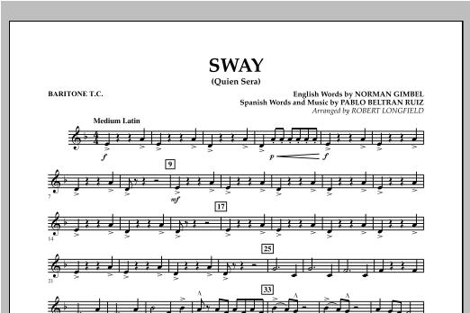 Sway (quien Sera) Dl - Baritone T.C. Sheet Music