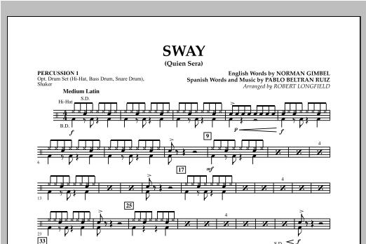 Sway (quien Sera) Dl - Percussion 1 Partition Digitale