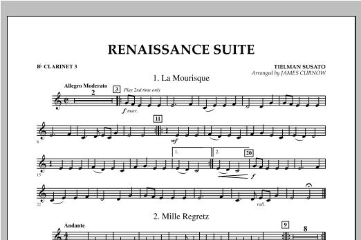 Renaissance Suite - Bb Clarinet 3 Sheet Music