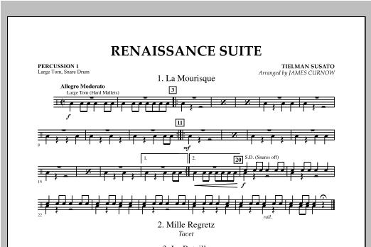 Renaissance Suite - Percussion 1 Partition Digitale