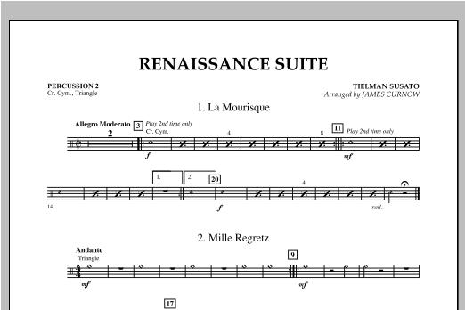 Renaissance Suite - Percussion 2 Sheet Music
