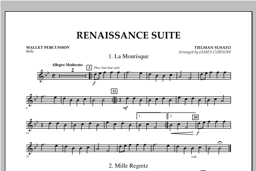 Renaissance Suite - Mallet Percussion Sheet Music