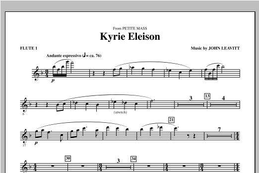 Kyrie Eleison (from Petite Mass) - Flute 1 Sheet Music