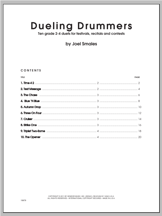 Dueling Drummers Sheet Music
