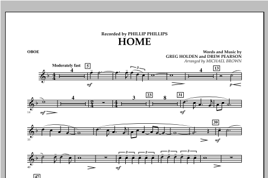 Home - Oboe Sheet Music
