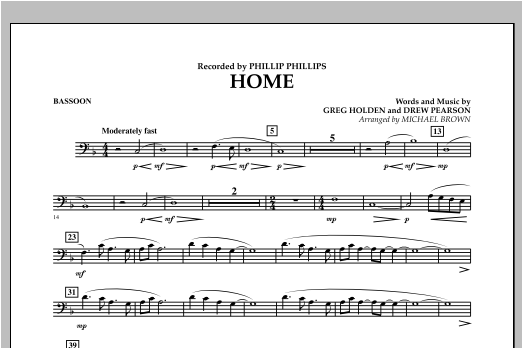 Home - Bassoon Sheet Music