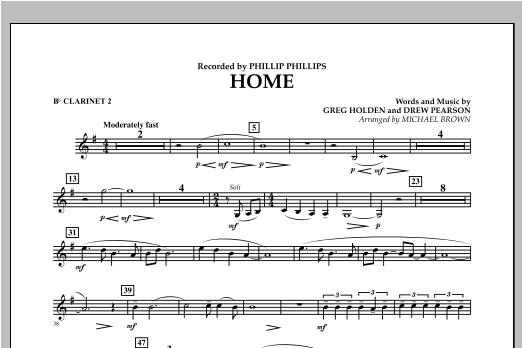 Home - Bb Clarinet 2 Sheet Music
