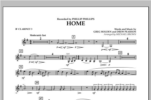 Home - Bb Clarinet 3 Sheet Music
