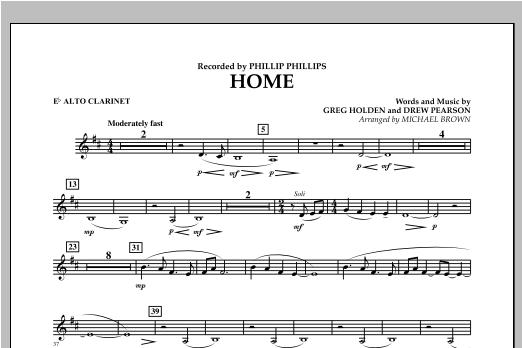 Home - Eb Alto Clarinet (Concert Band)