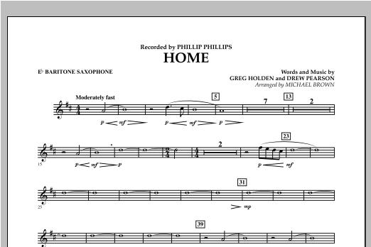 Home - Eb Baritone Saxophone Sheet Music