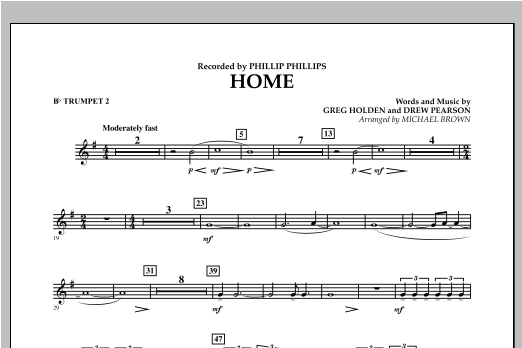 Home - Bb Trumpet 2 Sheet Music