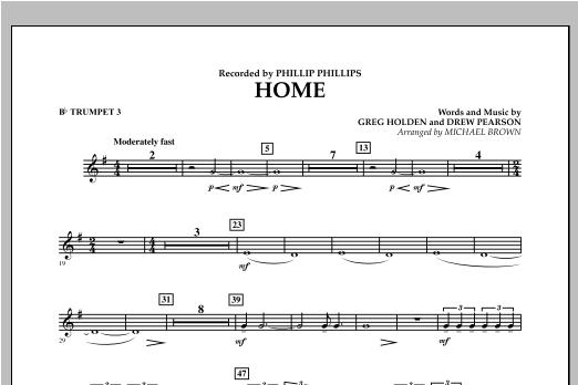 Home - Bb Trumpet 3 Sheet Music
