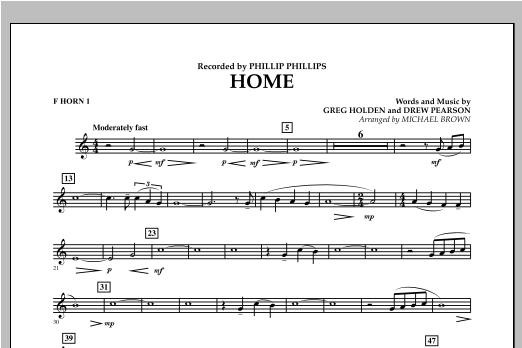 Home - F Horn 1 Sheet Music