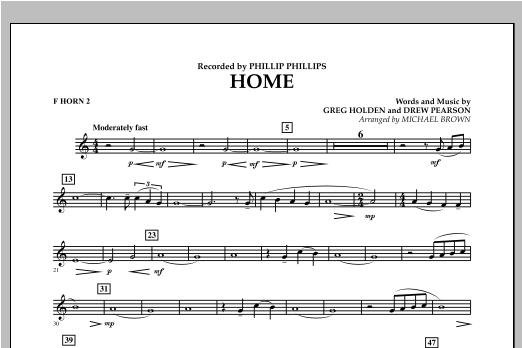 Home - F Horn 2 Sheet Music
