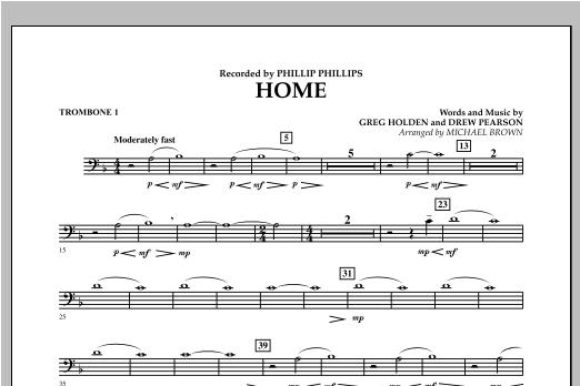 Home - Trombone 1 (Concert Band)