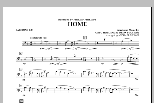 Home - Baritone B.C. Sheet Music