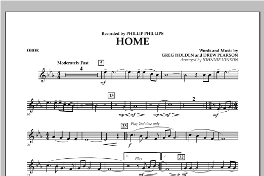 Home - Oboe Sheet Music