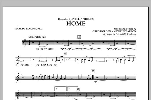 Home - Eb Alto Saxophone 2 (Concert Band)