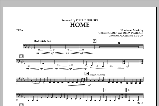 Home - Tuba Sheet Music