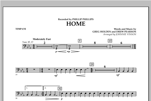 Home - Timpani Sheet Music