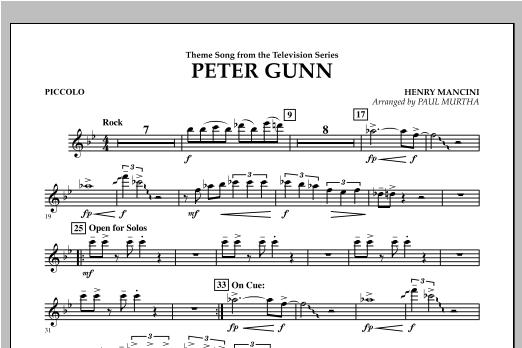 Peter Gunn - Piccolo Sheet Music