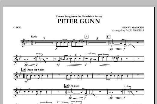Peter Gunn - Oboe Sheet Music