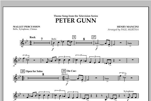 Peter Gunn - Mallet Percussion Sheet Music