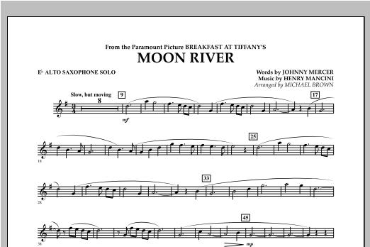 Moon River - Eb Alto Saxophone Solo Sheet Music