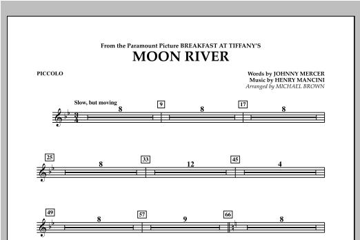 Moon River - Piccolo Sheet Music