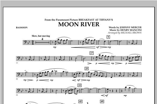 Moon River - Bassoon Sheet Music