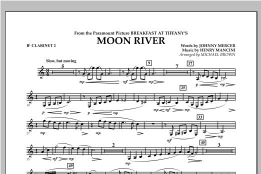 Moon River - Bb Clarinet 2 Sheet Music