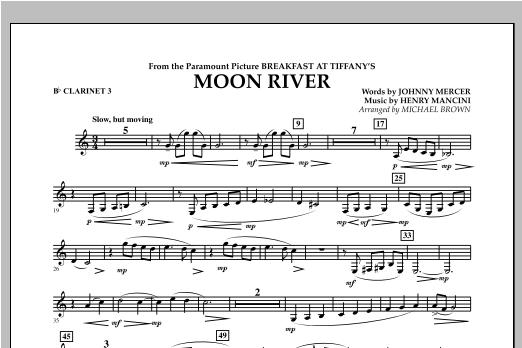Moon River - Bb Clarinet 3 Sheet Music