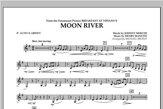 Moon River - Eb Alto Clarinet Sheet Music
