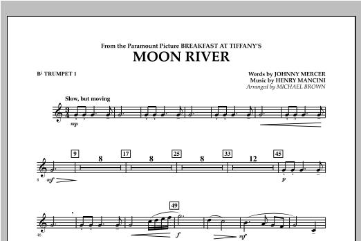 Moon River - Bb Trumpet 1 Sheet Music