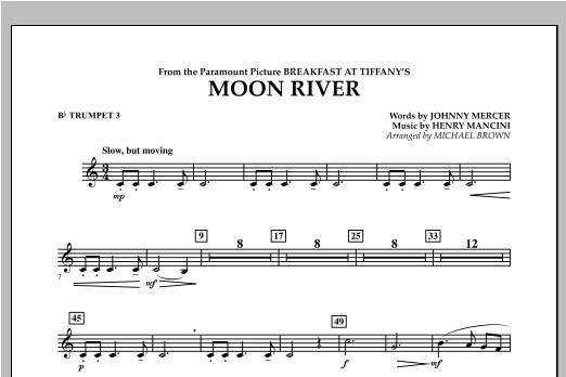 Moon River - Bb Trumpet 3 Sheet Music