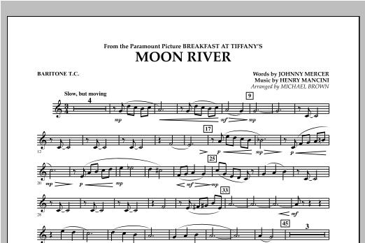 Moon River - Baritone T.C. Sheet Music