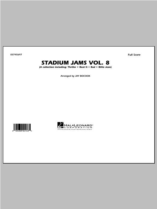 Stadium Jams Volume 8 (Michael Jackson) - Conductor Score (Full Score) (Marching Band)