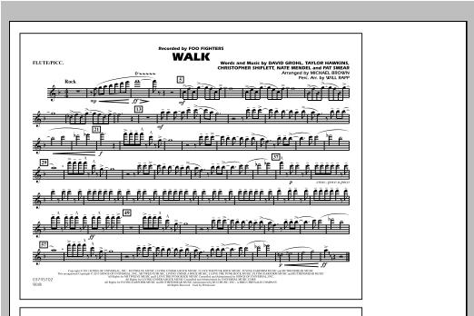 Walk - Flute/Piccolo Sheet Music