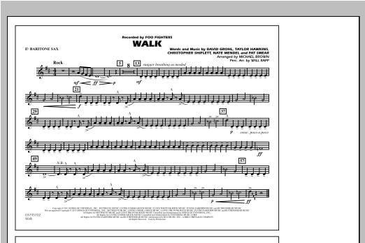 Walk - Eb Baritone Sax Sheet Music