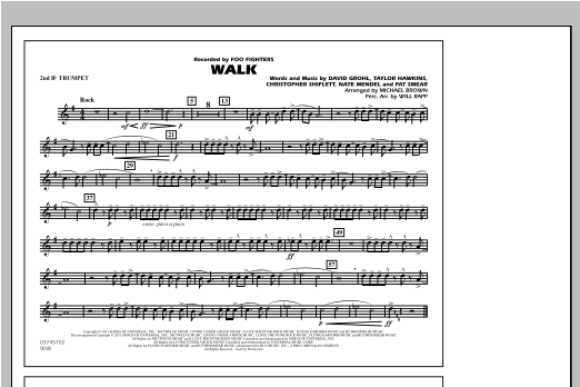 Walk - 2nd Bb Trumpet Sheet Music