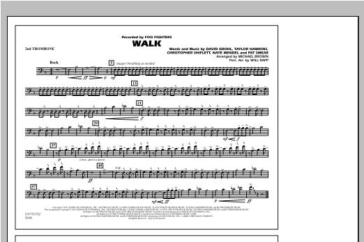 Walk - 2nd Trombone Sheet Music