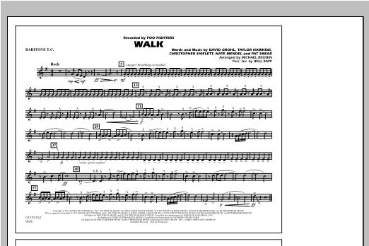 Walk - Baritone T.C. Sheet Music