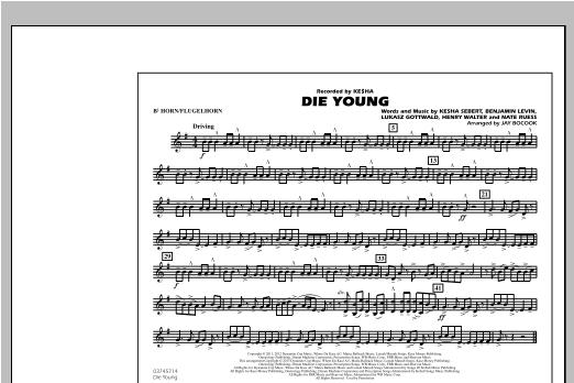 Die Young - Bb Horn/Flugelhorn Sheet Music