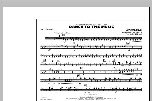 Dance To The Music - 2nd Trombone Sheet Music