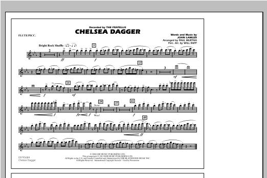 Chelsea Dagger - Flute/Piccolo Sheet Music