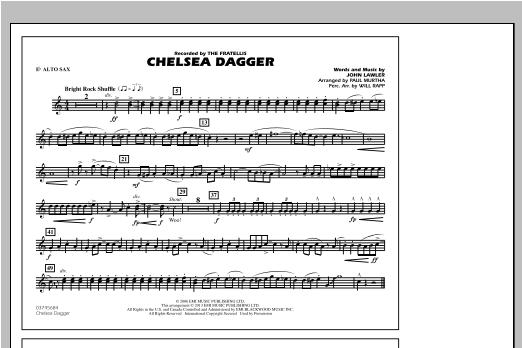 Chelsea Dagger - Eb Alto Sax Sheet Music
