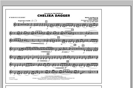 Chelsea Dagger - Bb Horn/Flugelhorn Sheet Music